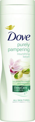 Dove Purely Pampering Pistachio Cream and Magnolia Nourishing Lotion 250ml