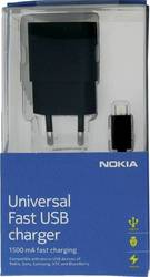 Nokia micro USB Cable & Wall Adapter Μαύρο (AC-60E) (Retail)