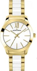 Jacques Lemans Rome Ceramic Gold Stainless Steel Bracelet 1-1796C