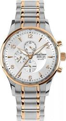 Jacques Lemans London Two Tone Stainless Steel Chronograph 1-1844L