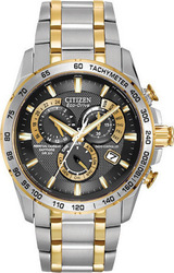 Citizen Mens Ecodrive Perpetual Chrono A-t AT4004-52E