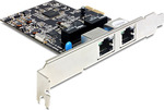 DeLock 89346 PCI Express Card to 2 Gigabit LAN