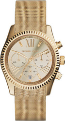 Michael Kors Lexington Chronograph Gold Stainless Steel Bracelet MK5938