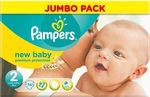 Pampers New Baby Jumbo Pack No 2 (3-6kg) 74τμχ