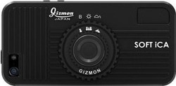 Gizmon iCa Soft Black (iPhone 5/5s/SE)