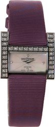 Saint Honore Diamonds Purple Leather Strap 7101461BYD