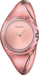 Calvin Klein Pure New Pink Plastic Bangle K4W2SXZ6