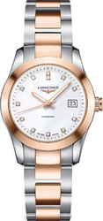 Longines Conquest Automatic Diamonds Two Tone Stainless Steel L22855877