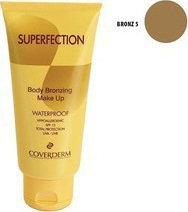 Coverderm Superfection Body Bronzing Make Up Waterproof SPF15 05 100ml