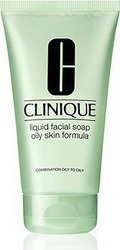 Clinique Liquid Facial Soap Oily Skin Formula Tube 150ml