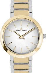 Jacques Lemans Milano Two Tone Stainless Steel Bracelet 1-1842D