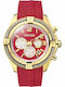 Breeze ρολοι γυναικειο Flirtini Red Rubber Chrono 110211.15