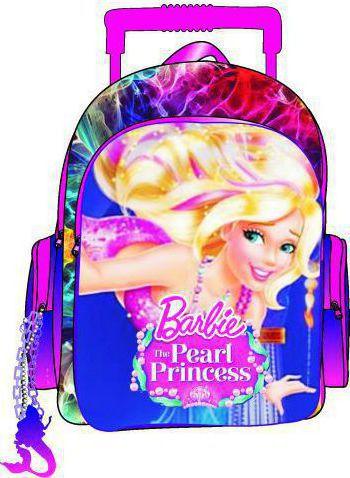 1e9f3d8911 Προσθήκη στα αγαπημένα menu Paxos Barbie Pearl Princess Σακίδιο Διπλό  Trolley