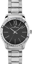 Jacques Lemans Rome Crystals Stainless Steel Bracelet 1-1841E