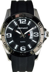 Ferrucci Black Leather Strap FC1240.07