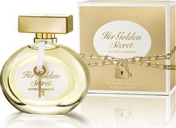 Antonio Banderas Golden Secret Her Eau de Toilette 80ml