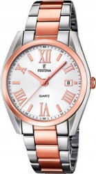 Festina Two Tone Stainless Steel Bracelet F16795/1