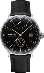 Junkers Bauhaus Automatic Black Leather Strap 6060-2