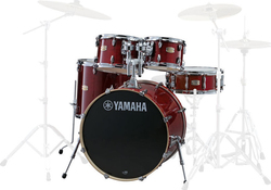 Yamaha Stage Custom Birch Cranberry Red