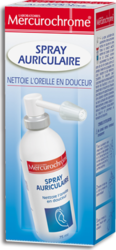 Mercurochrome Spray Auriculaire 75ml