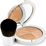 Dior Diorskin Nude Tan Healthy Glow Enhancing Powder (With Kabuki Brush) 002 Sunlight 10gr