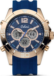 Colori Digital Sports Blue Silicone Strap CLD076