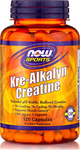 Now Foods Kre Alkalyn Creatine 120 κάψουλες