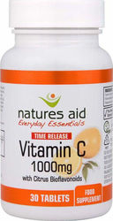 Natures Aid Vitamin C Time Release 1000mg 30 ταμπλέτες