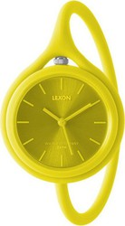Lexon 9470 Take time 3 in 1 Wrist Watch Yellow