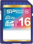 Silicon Power Elite SDHC 16GB U1