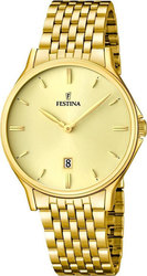 Festina Men Gold Stainless Steel Bracelet F16746/2