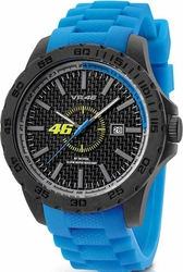 Yamaha By Tw Steel Valentino Rossi Cyan Rubber Strap VR5