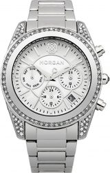 Morgan De Toi Crystals Stainless Steel Bracelet M1228SM