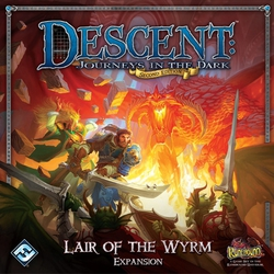 Fantasy Flight Descent Journeys in the Dark: Lair of the Wyrm Expansion