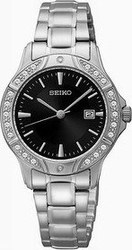 Seiko Women's Stainless Steel Quartz Watch SUR877P1