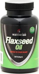 Warrior Lab Flaxseed Oil 120 μαλακές κάψουλες