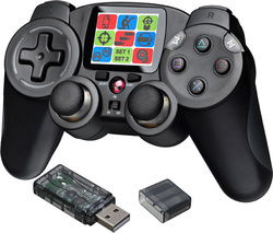 Bigben Interactive Wireless Controller with LCD & Tilt Sensor (PC/PS3)