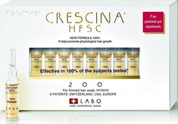 Labo Crescina HFSC 100% 200 Woman 10 αμπούλες