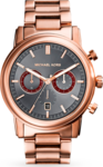 Michael Kors Pennant Rose Gold Stainless Steel Chronograph MK8370