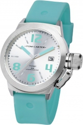 Tom Carter Silicon Voyager Turquoise Rubber Strap TOM104