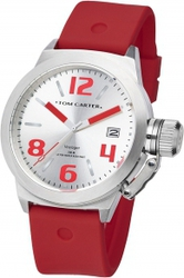 Tom Carter Silicon Voyager Red Rubber Strap TOM101