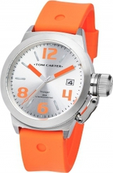 Tom Carter Silicon Voyager Orange Rubber Strap TOM102