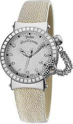 John Galliano L'elu White Leather Strap R1551100645