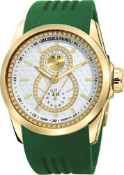 Jacques Farel Multifunction Green Rubber Strap ATL4223GR