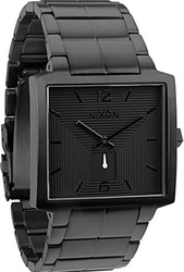 Nixon 5 The District All Black Bracelet A048-1001
