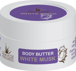 Aloe Plus Natural Cosmetics Body Butter White Musk 50ml