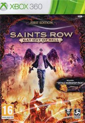 Saints Row Gat Out of Hell (First Edition) XBOX 360