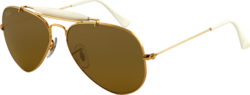Ray Ban Outdoorsman II Rainbow RB3407 001/3K