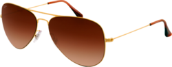 Ray Ban Aviator Flat Metal RB3513 149/13