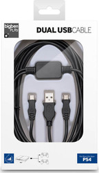 Bigben Interactive Dual Charging Cable PS4